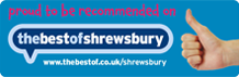 Recommended on The Best of Shrewsbury