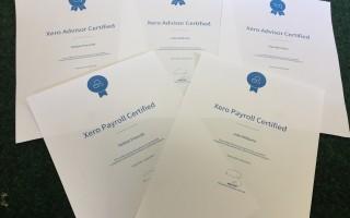 Xero Payroll Certificates
